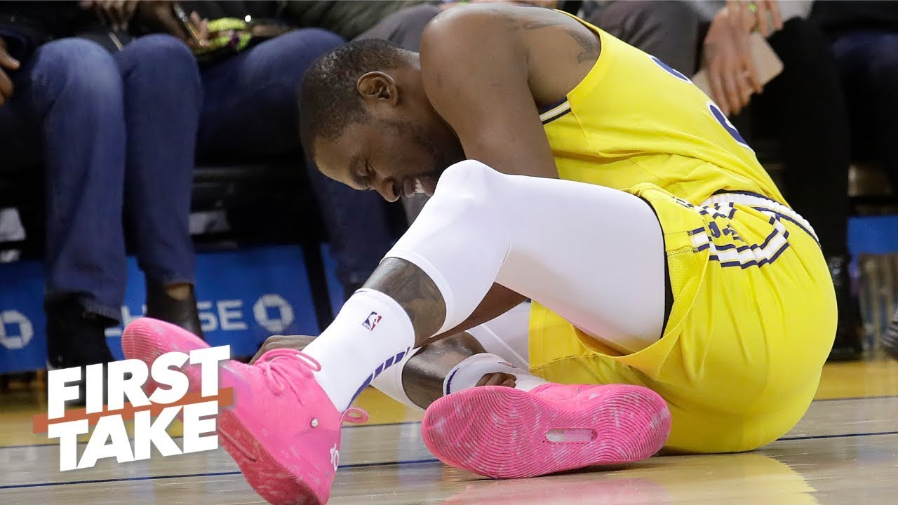 Kevin Durant's injury could fuel the Rockets' chase for the No. 1 seed - Max Kellerman | First Take image