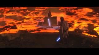 Звездные Войны : Энакин Скайуокер против Оби Вана Кеноби (Часть 3 ) | HD