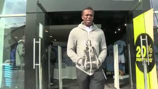KSI Goes Shopping at the Manchester derby   Man United v Man City KSIARMY