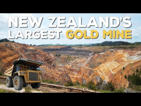 New Zealand's Largest Gold Mine & Goldfields Historic Railway   S02E05   Adventures With Rosy