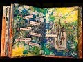 #ginabahrensdesigns - Art Journal Page