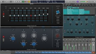 Logic Pro X 10.4 Vintage EQ Plugins (they're the real deal)