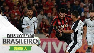 Melhores Momentos - Atlético-PR 0 x 0 Botafogo - Campeonato Brasileiro (20/07/2017)