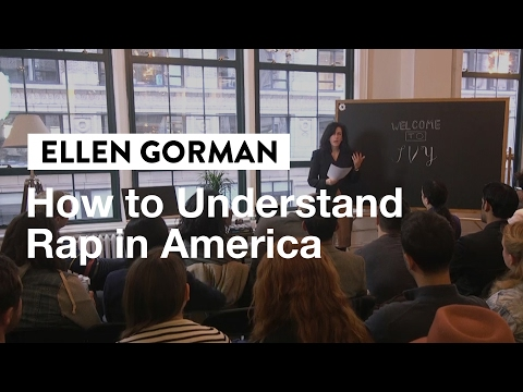 How to Understand Rap in America | Dr. Ellen Gorman, Georget