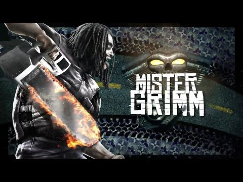 Twisted Metal PS3 Mr. Grimm Level 1: Diesel City