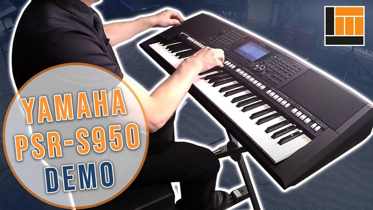 Yamaha PSR-S950 Arranger Workstation Keyboard - Long