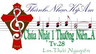 CHÚA NHẬT 1 THƯỜNG NIÊN năm A | TV.28 | Lm. Thái Nguyên [Thánh Nhạc Ký Âm] TnkaATN1tn