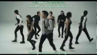 Magic - Oneway   English Subs + Romanizations + Hangul