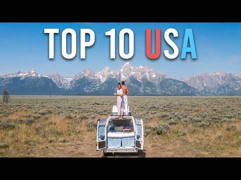 Top 10 Road Trip Destinations in the USA