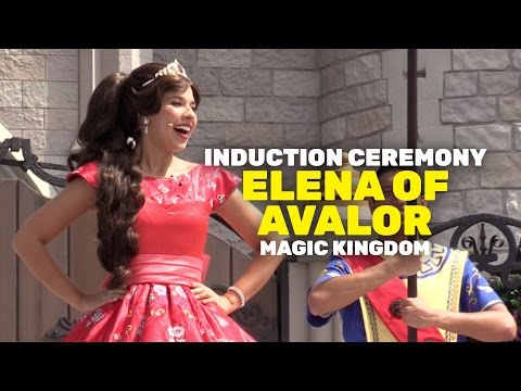 Princess Elena of Avalor Royal Induction Ceremony at Magic Kingdom, Walt Disney World