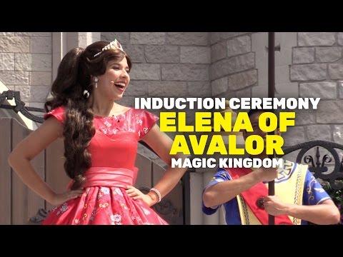 Princess Elena of Avalor Royal Induction Ceremony at Magic Kingdom, Walt Disney World