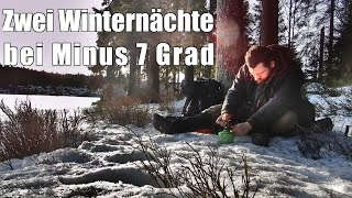 Two Winter Nights in the Harz Mountains Minus 7 Degrees