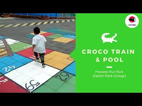 croco-train-and-swimming-pool-at-predator-fun-park-#wisata-keluarga