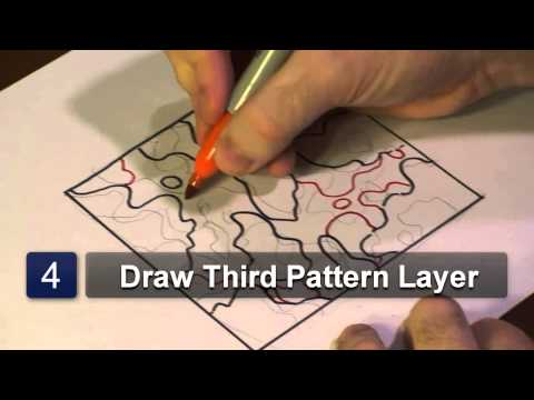 How to Draw Camouflage Patterns