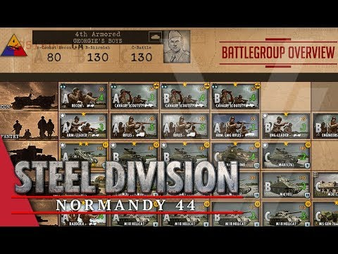 4th Armored (Georgie's Boys) - Steel Division: Normandy 44 Battlegroup Overview #19