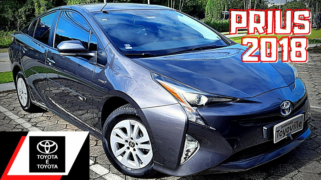 PRIUS 2018 | DETALHES DO TOYOTA PRIUS HYBRID SYNERGY DRIVE 1.8 HÍBRIDO GASOLINA AUTOMÁTICO SEMINOVO