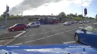 Truck Car Carrier Crash Accident Wrecks new cars LOL contains language