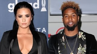 Demi Lovato Spotted On HOT Date Night With NFL Star Odell Beckham Jr.