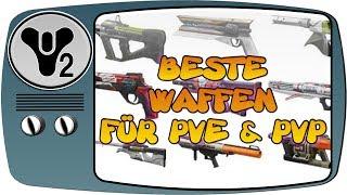 Destiny 2 Guide 🌌 TOP 5 Beste Waffen für PvE und PvP – german deutsch