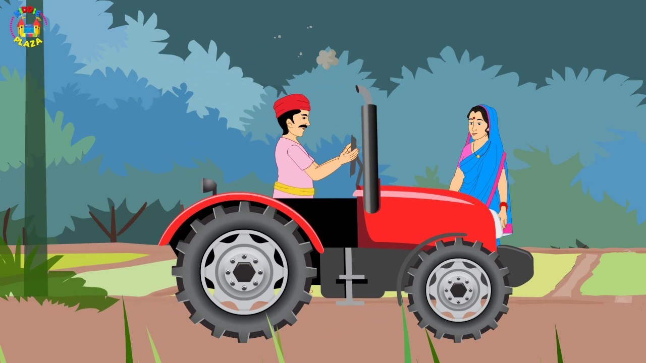 The Farmer in the Dell Educational Songs for Children - Popular Nursery Rhymes and Kids Songs