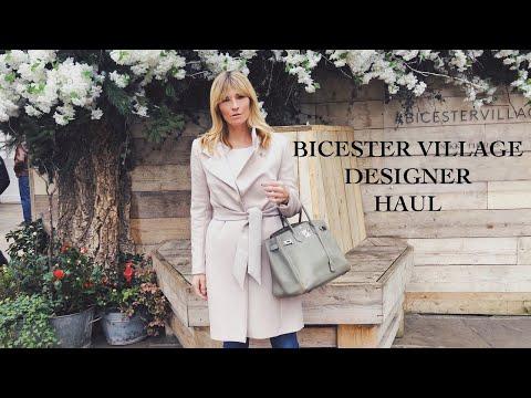 Bicester Village Designer HAUL | DESIGNER OUTLET SHOPPING Spring Summer 2019