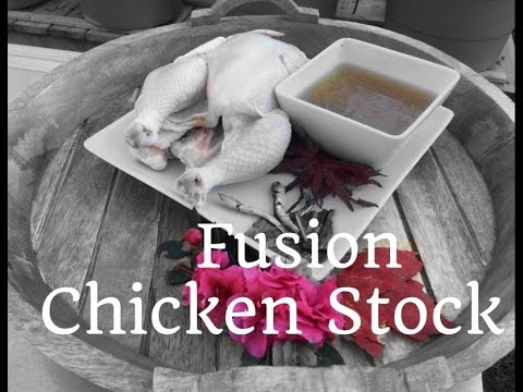 HD How to make Fusion Chicken Stock - Asian Redneck Fusion Cooking Recipes