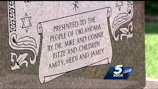 Oklahoma Supreme Court rules Ten Commandments monument at Capitol must come down