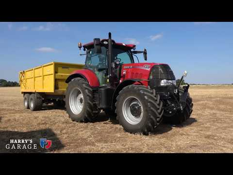Driving a 2018 tractor and a look at what's changed over recent years