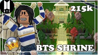 Roblox | BTS SHRINE | Bloxburg Speed-Build