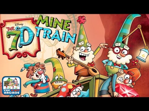 The 7D: Mine Train - Introducing Grumpy & Bashful (iOS/iPad Gameplay)
