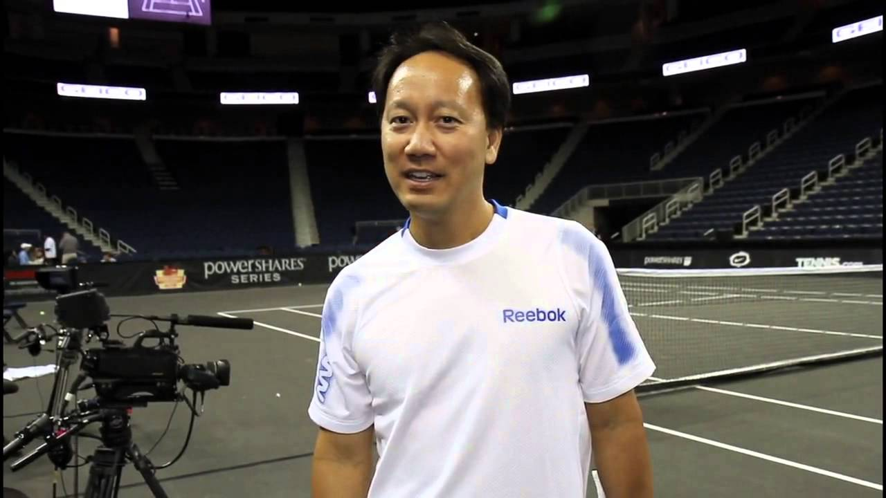 Tennis Legend Michael Chang Gives A Salute to the Troops