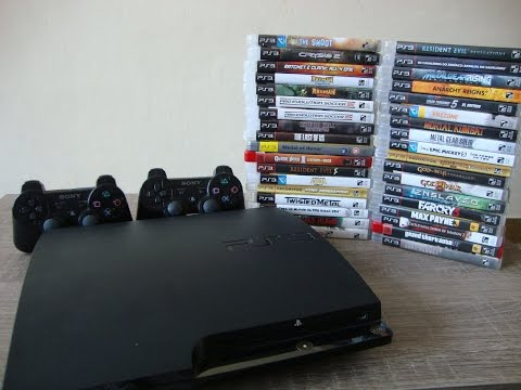 """Caçando Jogos #02- Playstation 3 """" minha coleção de ps3 """""""