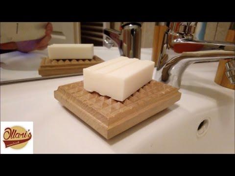 DIY White Oak Soap holder