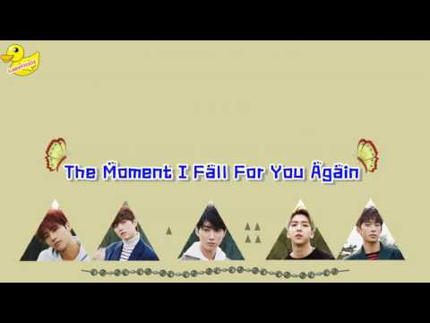[Karaoke/Thaisub] B1A4 - The Moment I Fall For You Again (너에게 한 번 더 반하는 순간)