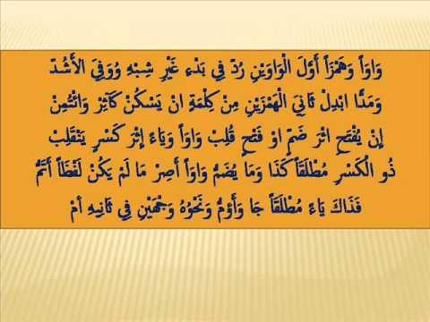 Alfiyah Bab Ibdal Penggantian Huruf 1
