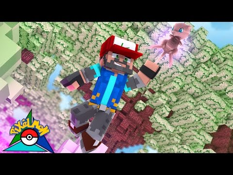 I CAUGHT MEW!!!!!!!!! [#20] | Minecraft: Pokémon Trinity [Pixelmon]