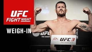 UFC Fight Night Shanghai: Official Weigh-in
