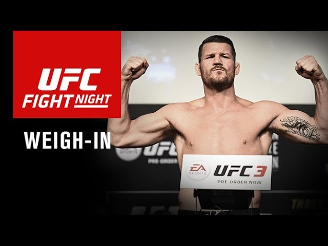 UFC Fight Night Shanghai: Official Weigh-in Results and Video Stream