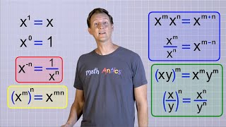 Algebra Basics: Laws Of Exponents - Math Antics