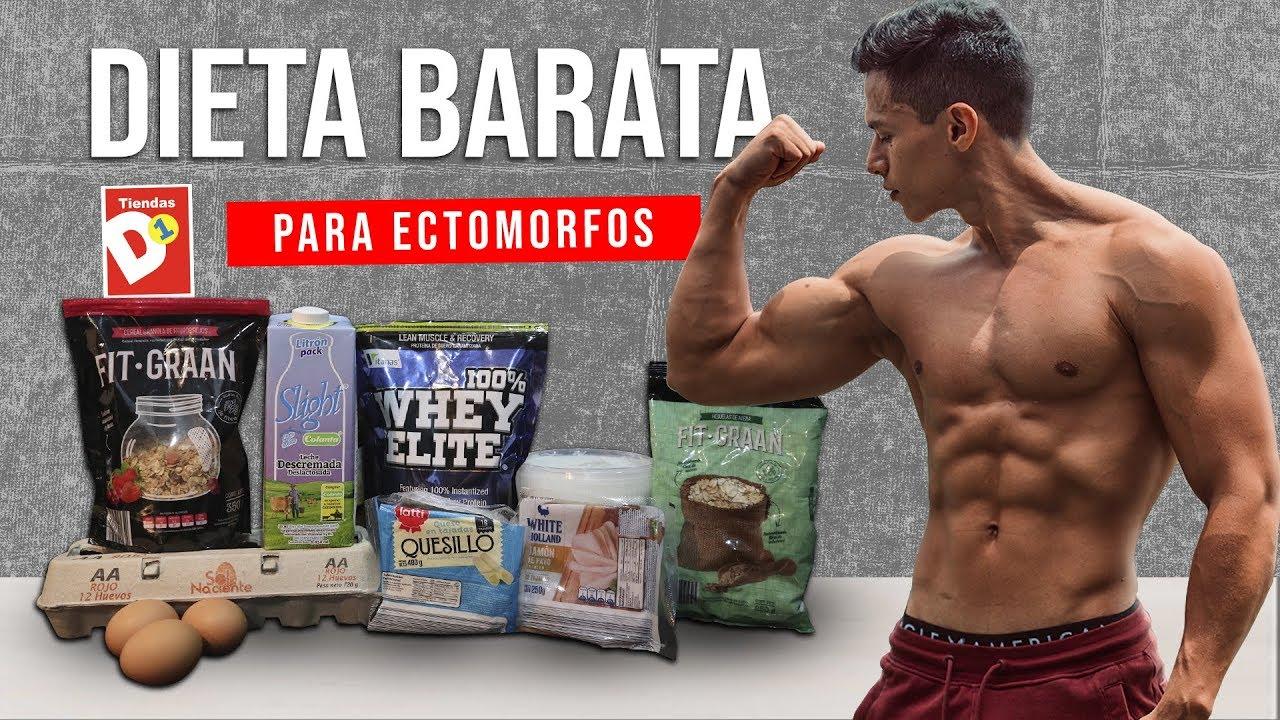 dieta para ganar musculo barata