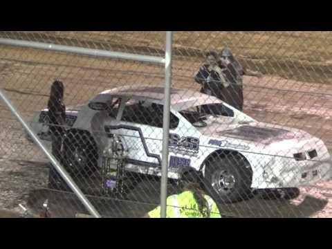 Ark La Tex Speedway Heath Wilson A feature winner interview