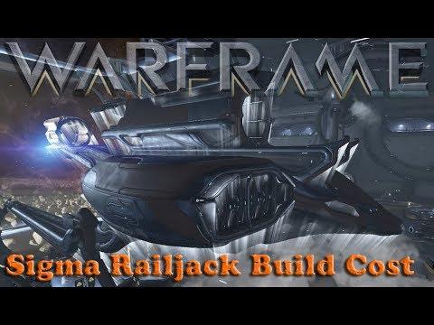 Warframe - Build Cost Of Sigma Class Railjack thumbnail