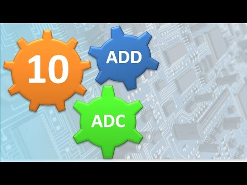 L10 Add Adc Instructions In 8086 Youtube