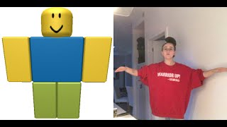 Roblox Character Makes Dinner