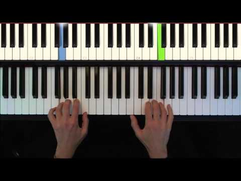 Here Comes Santa Claus, easy piano