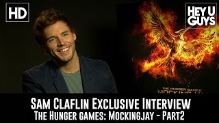 Sam Claflin Exclusive Interview - The Hunger Games Mockingjay Part 2