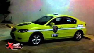 Xtreme Graphics - Guatamala Police Car