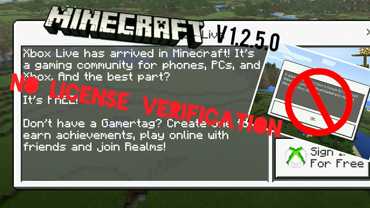 How To Install Minecraft Pocket Edition Version 1250 Without