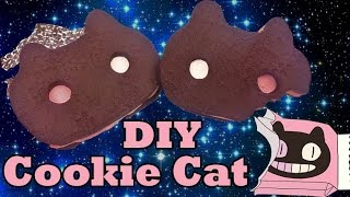 DIY COOKIE CAT NECKLACE from Steven Universe Polymer Clay Tutorial