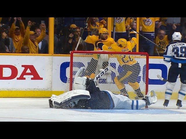 Kevin Fiala buries backhand in double overtime for Game 2 win